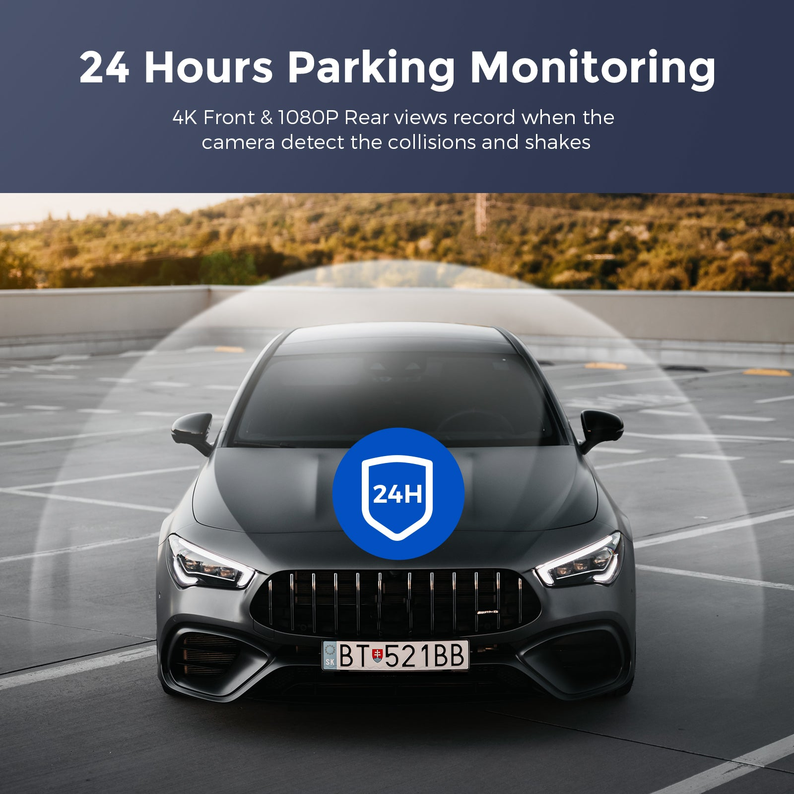 AZDOME M300S Parking Monitor