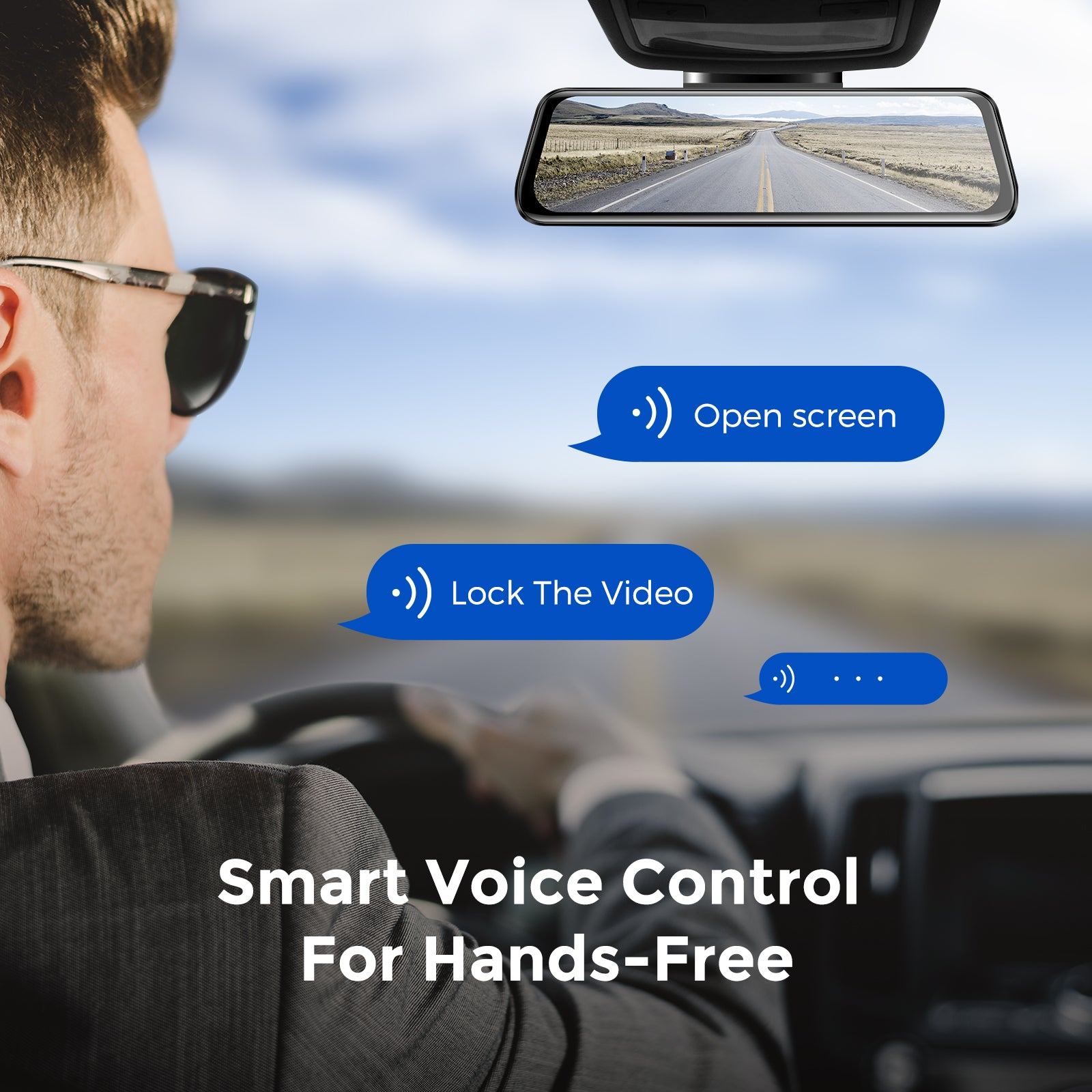 AZDOME PG02S Smart Voice Control For Hands-Free