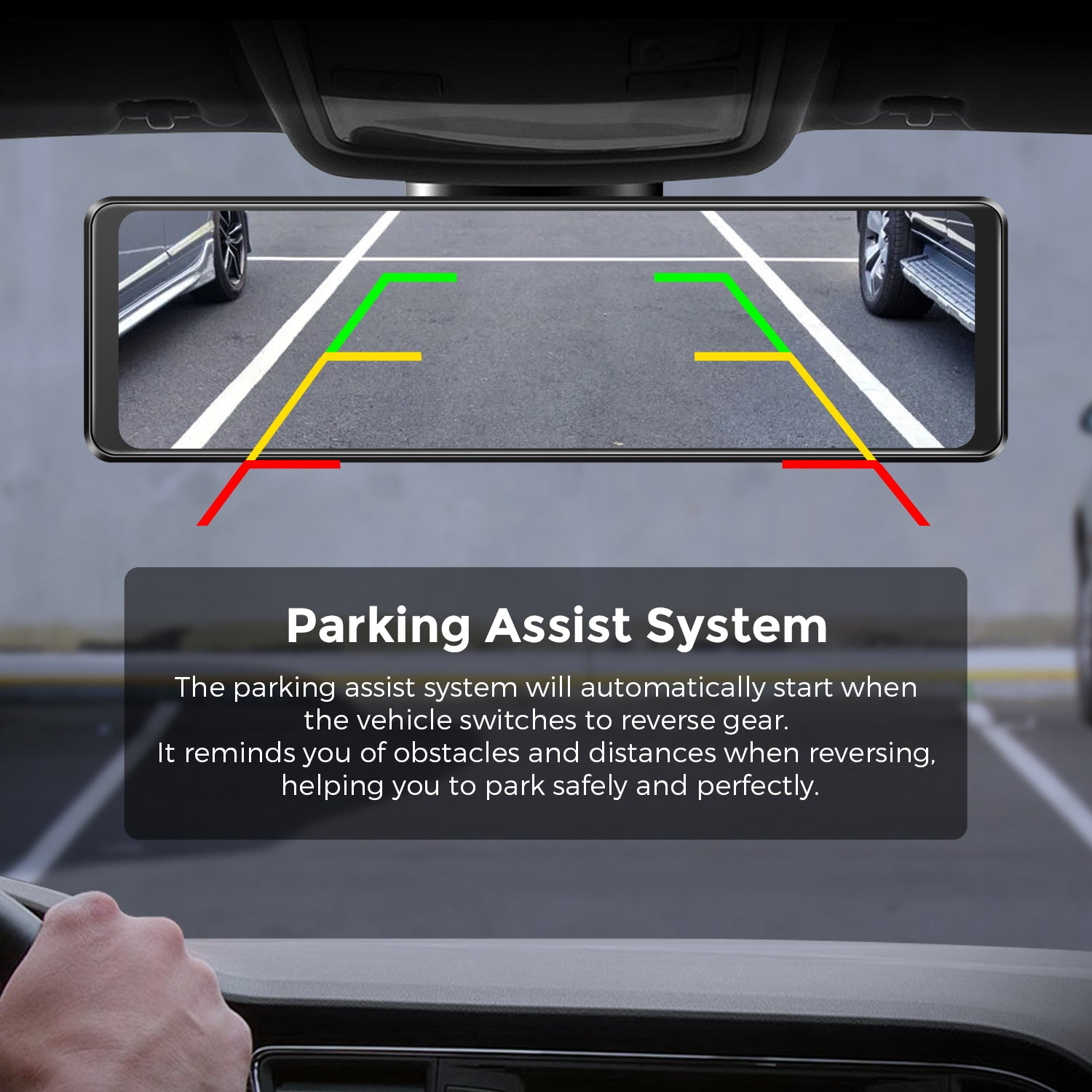 AZDOME PG16S Parking Assist System