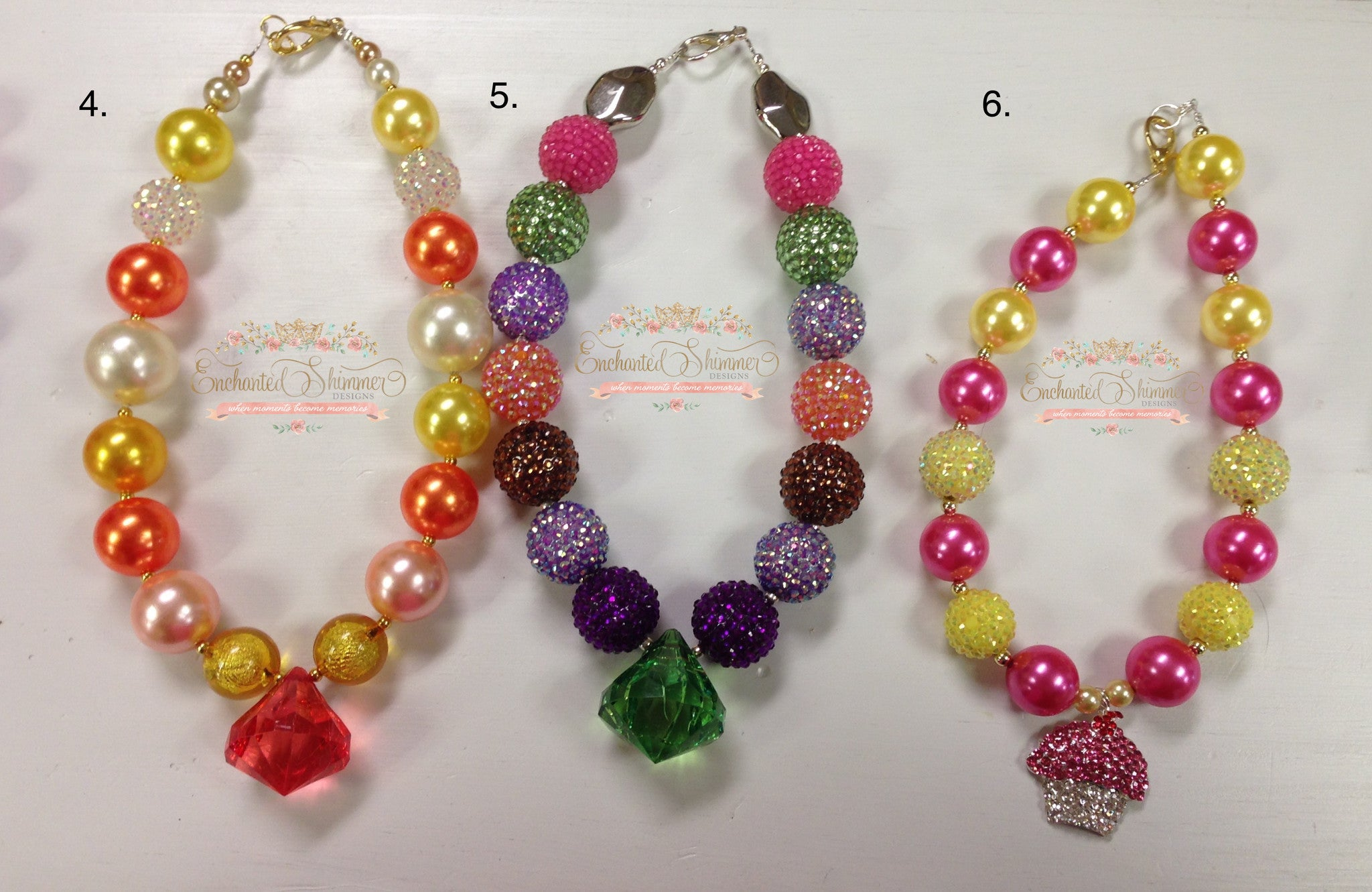 Bubble Necklaces (limited edition)