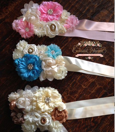 Maternity Sashes