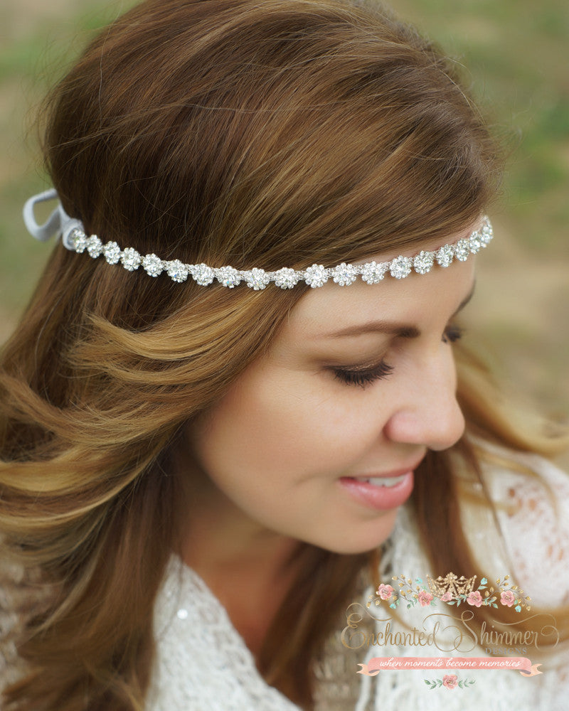 """Rosebud"" Headpiece"