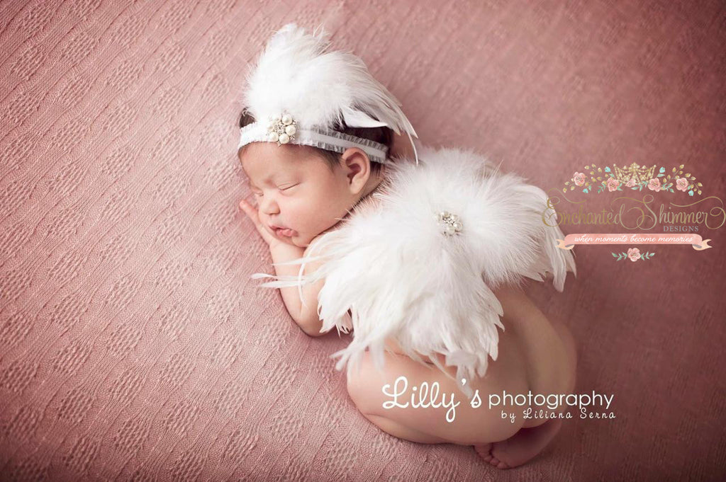 """Loreli"" Feather Headband"