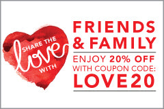 BrushLove Friends and Family Promotion