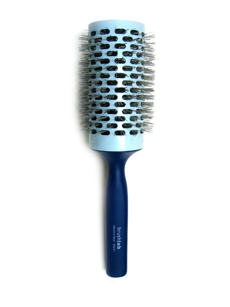 Brushlab Blue Ceramic Flow Thermal Round Barrel Hair Brush