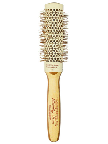 "Olivia Garden Healthy Hair Eco-Friendly 1 1/4"" Barrel Bamboo Hair Brush"