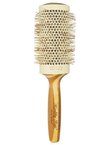 "Olivia Garden Healthy Hair Eco-Friendly 2 1/4"" Barrel Bamboo Hair Brush"