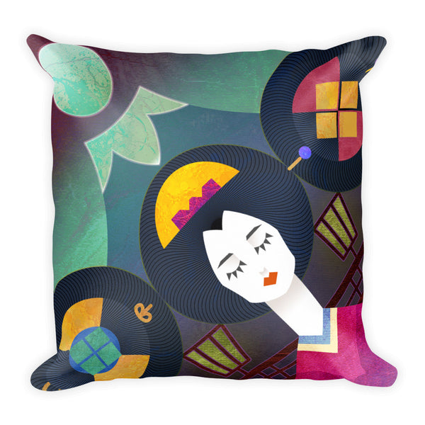 BOTB Shapes of Mikado Square Pillow