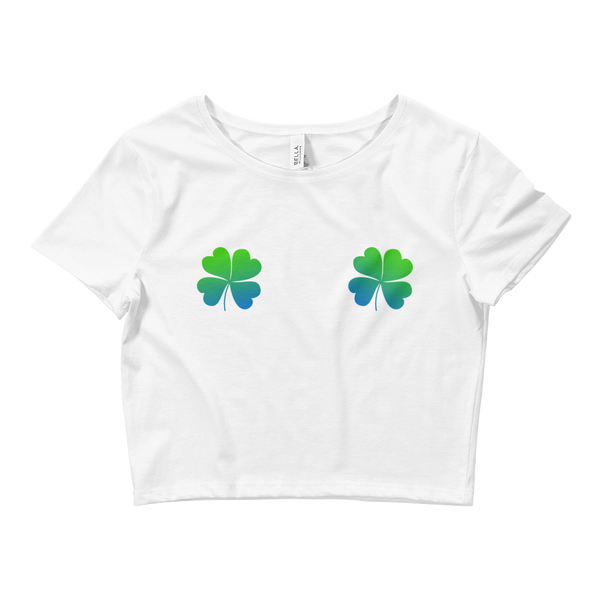 BOTB Clovers Crop Tee