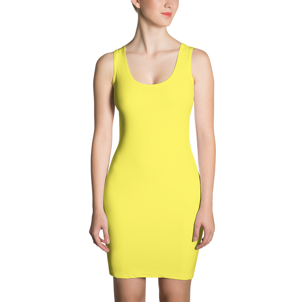 BOTB Canary Poppy Dress