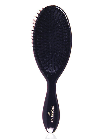 Spornette Classic Cushion Large Oval Nylon Bristle Brush