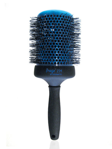 Spornette Prego Nylon Bristle Ceramic Aerated Round Brush (4 inch)