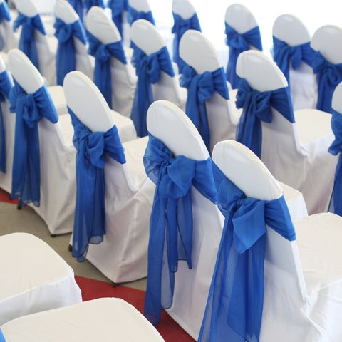 chairs with sashes
