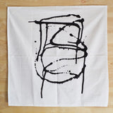 Graphic Black SplatAround Print Kitchen Towel