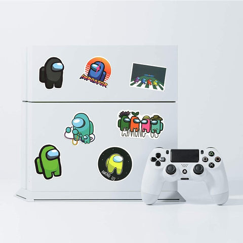 Costume your own devices with AMONG US sticker