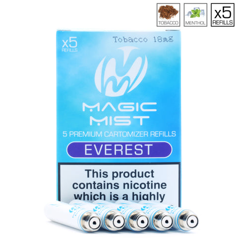 MagicMist | Electronic Cigarettes | Compatible Refills | Up to 60% Off