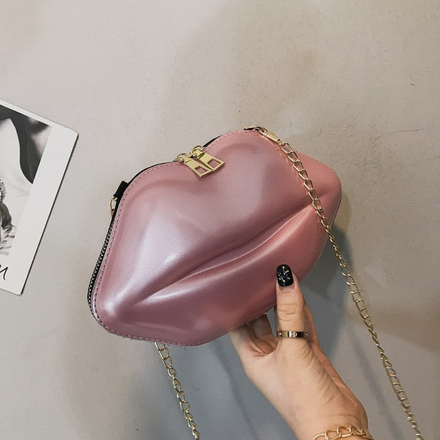 Lips Clutch W/Chaim