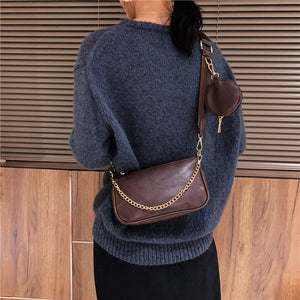 Multi Pochette Bag - Vegan Leather