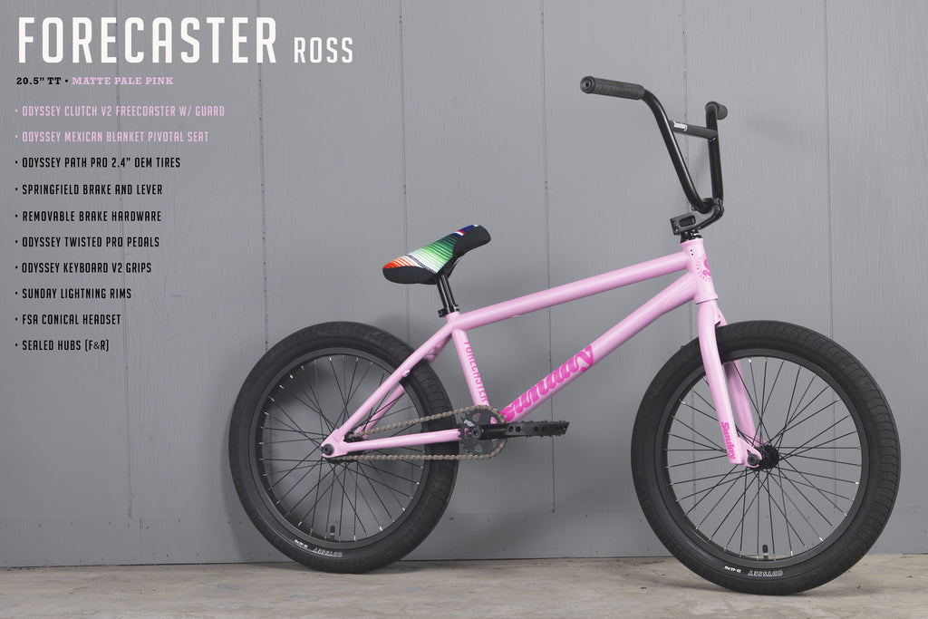 "2021 Sunday Forecaster - Aaron Ross Signature (Matte Pale Pink with 20.5"" tt)"
