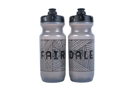 "Fairdale ""Layers"" Little Big Mouth 21 oz. Bottle - Clear Black"