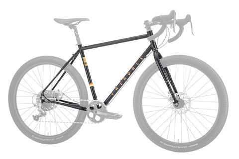Fairdale Weekender Disc Frame+Fork Kit (Gloss Black)
