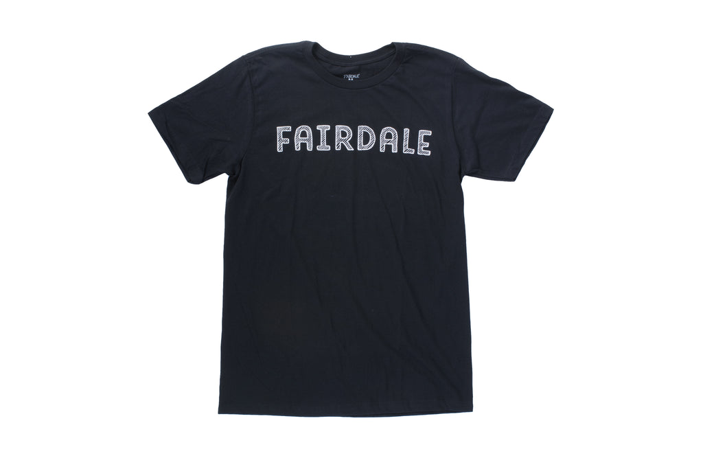 Fairdale Cross Hatch Tee (Black)