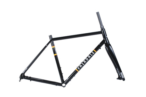 Fairdale Rockitship Frame and ENVE CX Fork Kit (Black)