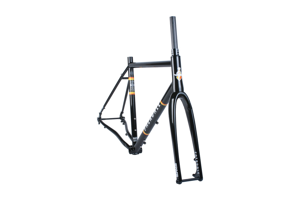Fairdale Rockitship Frame and ENVE CX Fork Kit (Black, Kelly Green, Chocolate Brown)