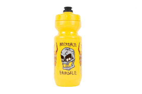 Fairdale x Neckface Bottleneck Purist Bottle (24oz Yellow)
