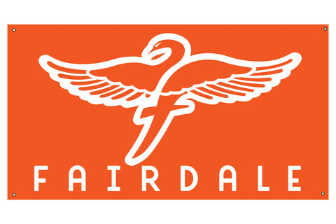 Fairdale Logo Banner - Orange (5.5' x 3')