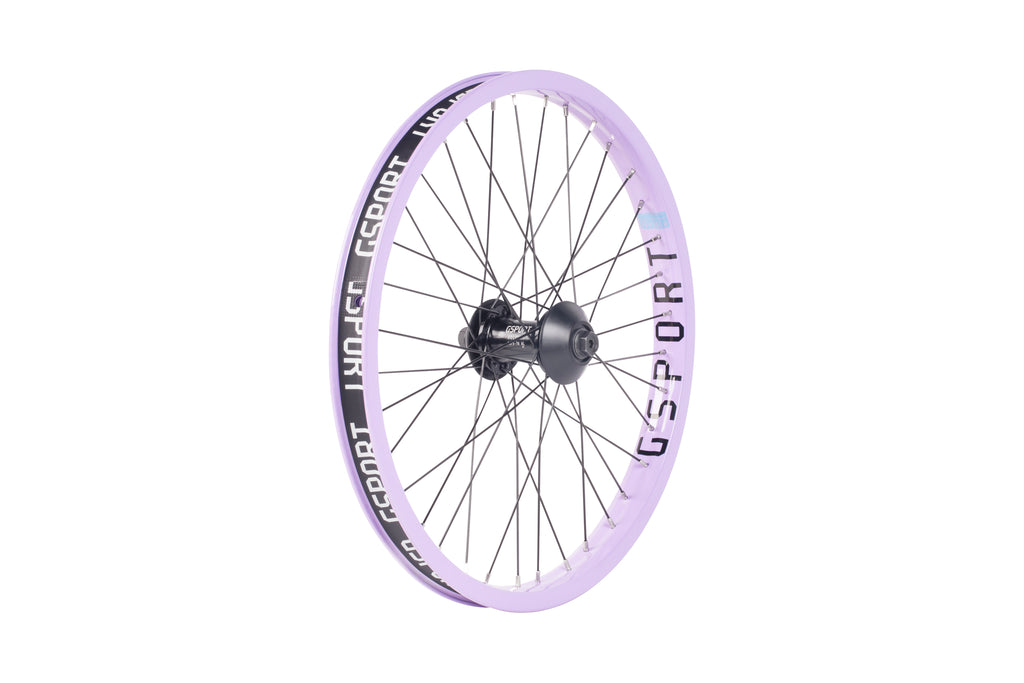 GSport Elite Front Wheel (Limited Edition - Lavender)