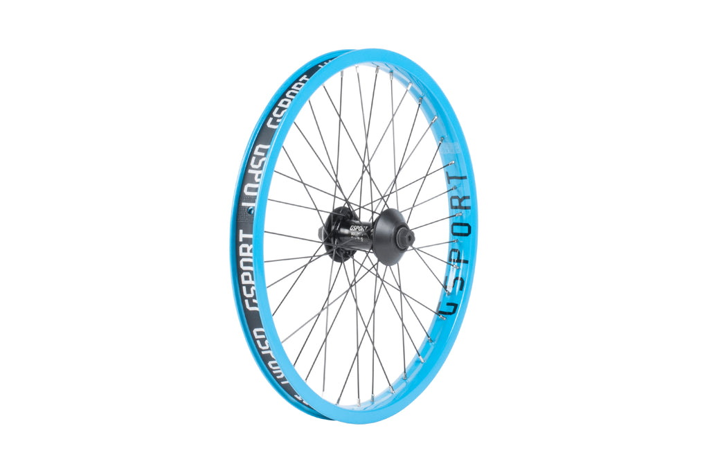 GSport Elite Front Wheel (25th Anniversary Cyan)