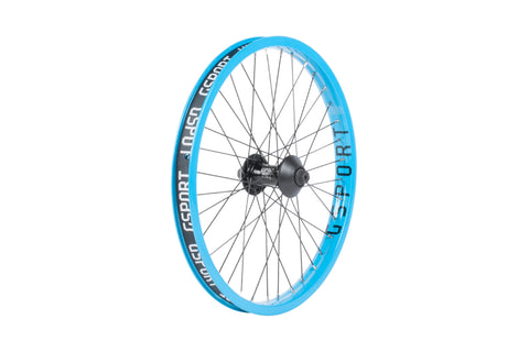 GSport Elite Front Wheel (Limited Edition - 25th Annivesary Cyan)