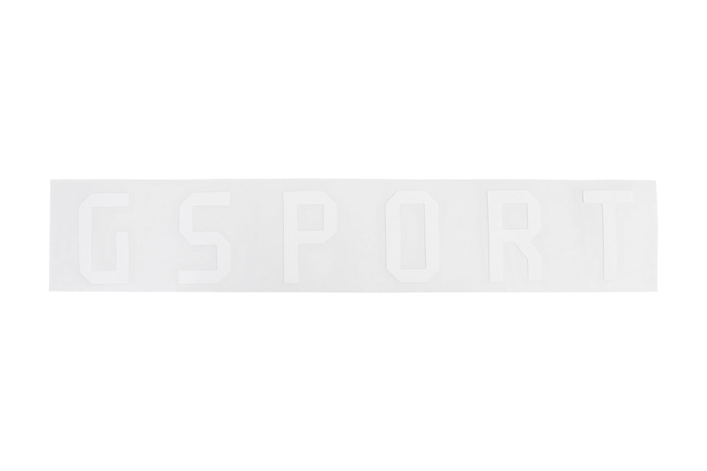 GSport Rim Sticker (Die-Cut) - White