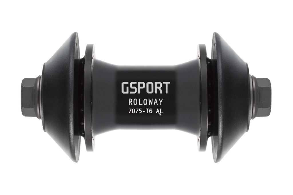 GSport Roloway Front Hub (Black or Polished)