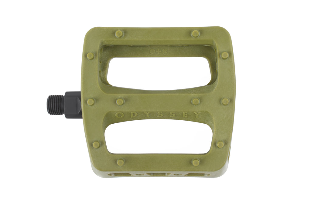 Odyssey Twisted Pro PC Pedals (Army Green)