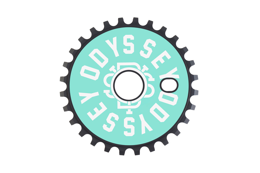 Odyssey Discogram Sprocket (Red Wrenches and Toothpaste Central Decals)