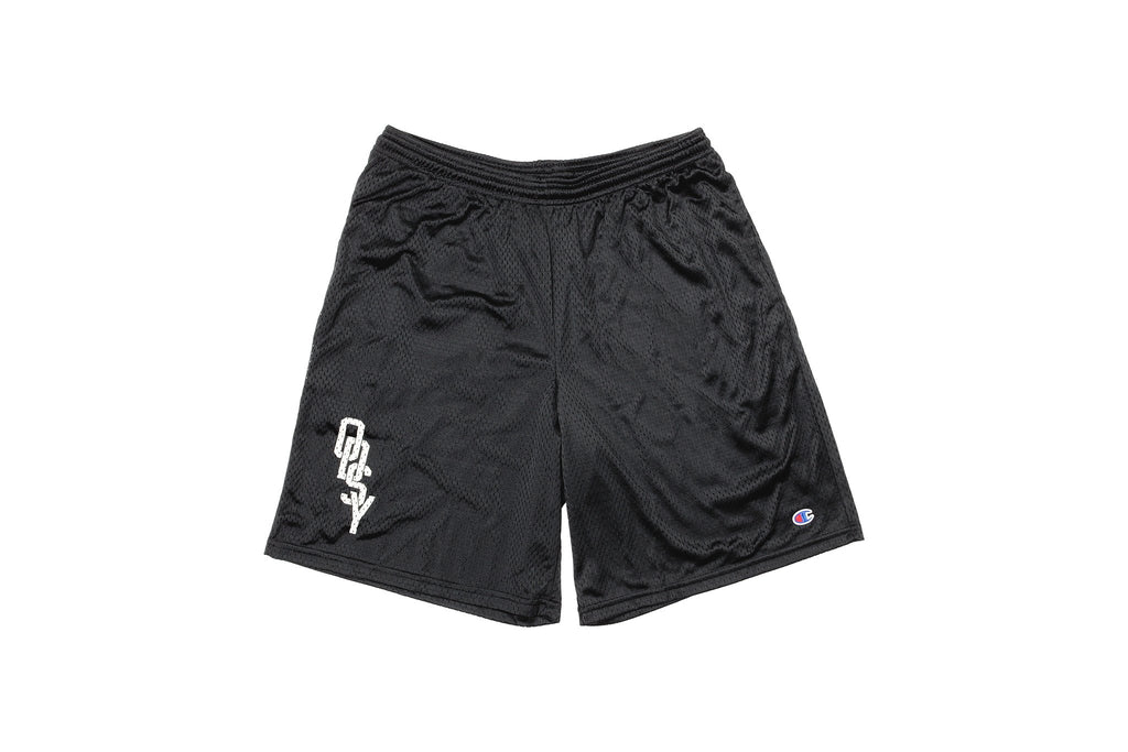 Odyssey Interlock Mesh Shorts (Black)