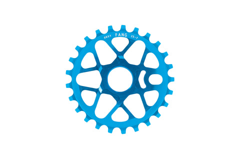 Odyssey Fang Sprocket (Anodized Cyan)