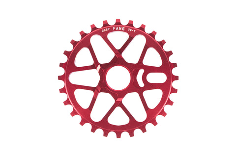 Odyssey Fang Sprocket (Anodized Red)