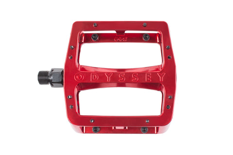 Odyssey Grandstand Alloy Pedals (Limited Edition - Electroplated Red)