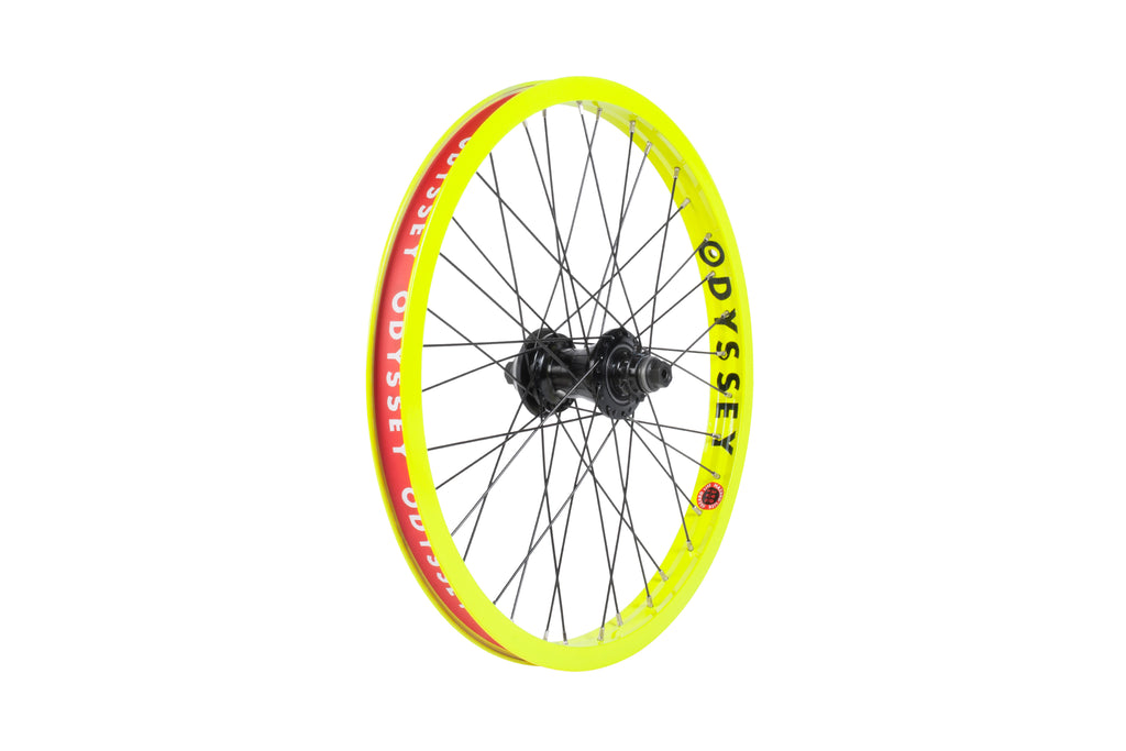 Odyssey Hazard Lite Freecoaster Wheel (Limited Edition - Fluorescent Yellow)