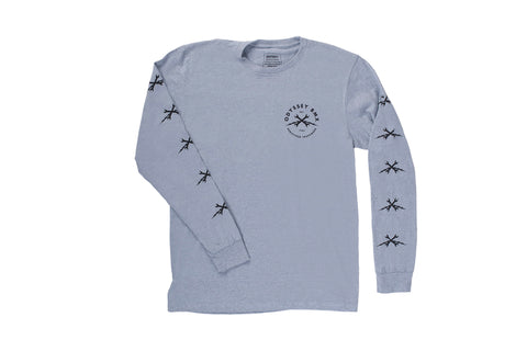 Echo Long Sleeve Shirt (Arctic Grey)