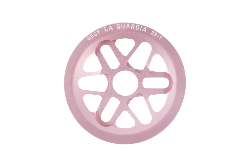 Odyssey La Guardia Sprocket (Anodized Pale Pink)