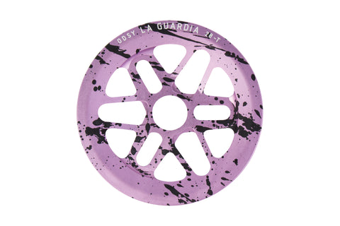 Odyssey La Guardia Sprocket (Lavender/Black Splatter)