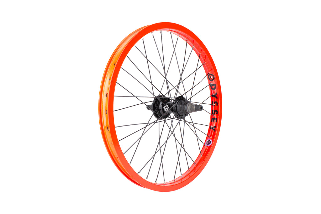 Odyssey Quadrant Cassette Wheel (Fire Engine Red)