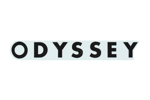 Odyssey Futura Rim Sticker (Black or White)