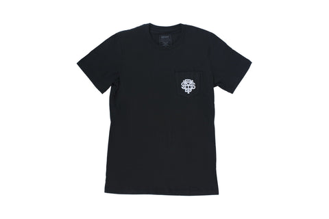 Monogram Pocket T-Shirt (Black)