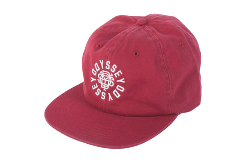 Odyssey Central Unstructured Hat (Cardinal Red)