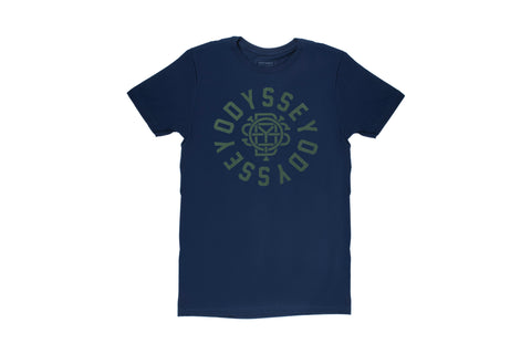 Odyssey Central Tee (Navy Blue/Olive)